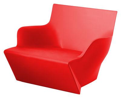 Poltrona Kami San di Slide - Rosso - Materiale plastico