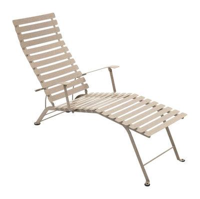 Chaise longue Bistro - Fermob muscade en métal