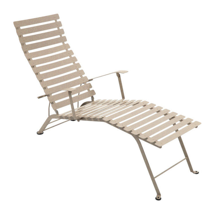 Chaise longue bistro muscade fermob for Bistro chaise longue