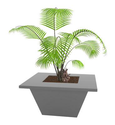 Jardin - Pots et plantes - Pot de fleurs Bench 150 x 150 cm - Slide - Gris - Polyéthylène