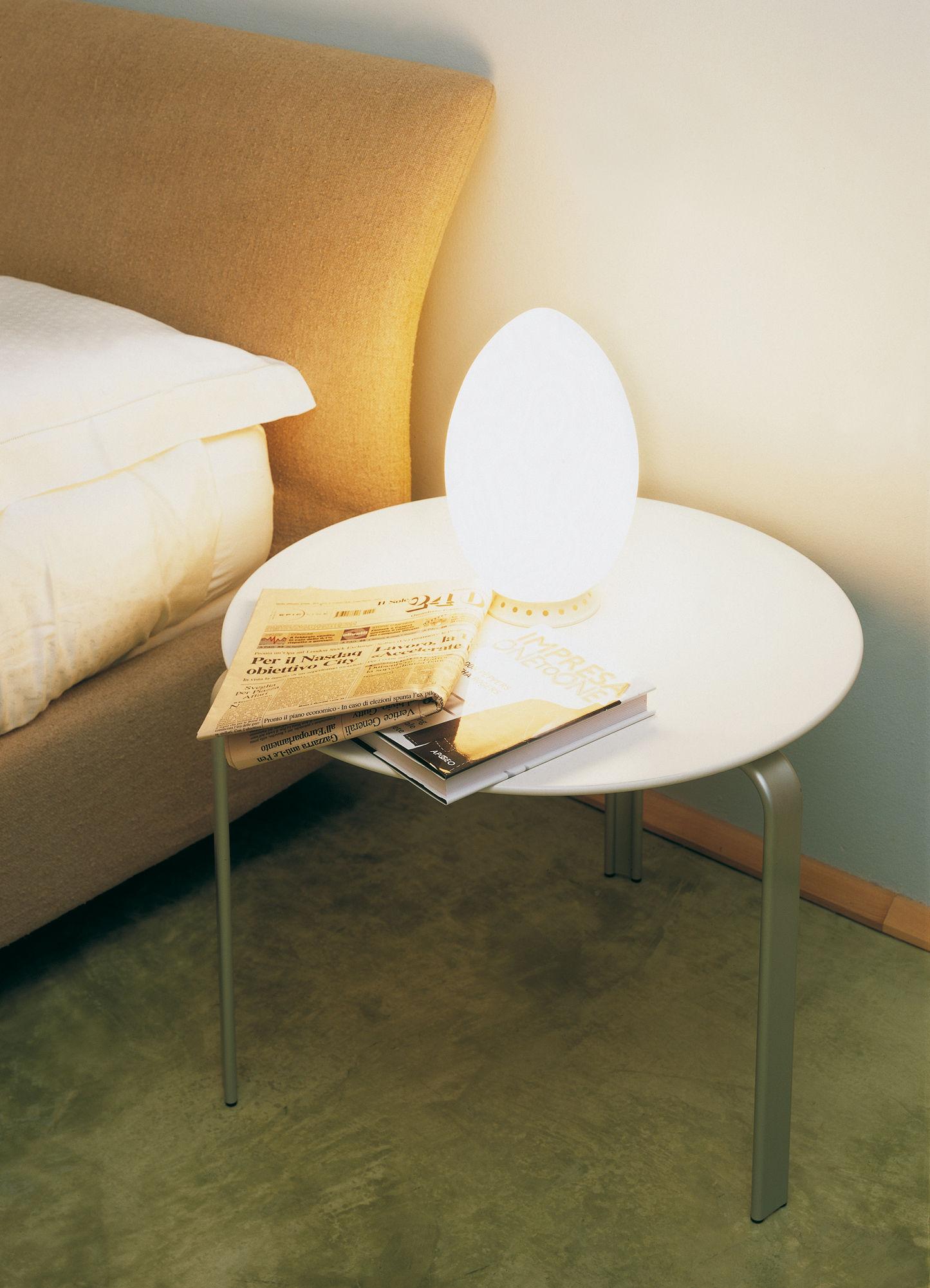 Lampe de table Uovo / Verre - H 44 cm H 44 cm - Fontana Arte | Made ...