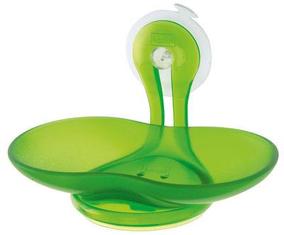 Image of Portasapone Loop di Koziol - Verde - Materiale plastico