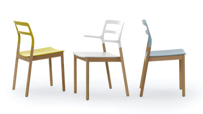 Scopri Sedia Florinda, Giallo di De Padova, Made In Design Italia