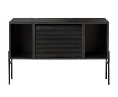 Hifive TV Möbel / TV-Möbel - L 100 cm x H 65 cm - Northern - Schwarz