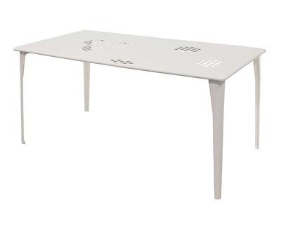 Pattern Tisch 160 x 87 cm - Emu - Weiß