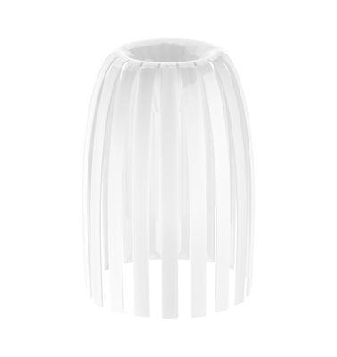 Abat-jour Josephine Small / Ø 22 x H 28 cm - Koziol blanc opaque en matière plastique