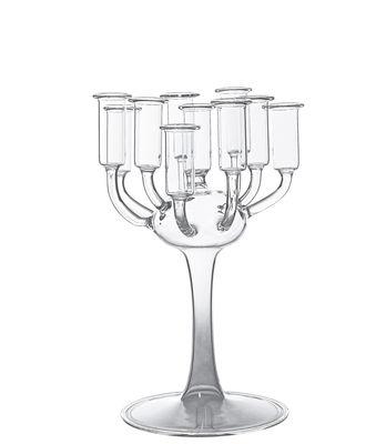 Interni - Vasi - Candeliere Antoine - H 28 cm - Vase di Skitsch - H 28 cm - trasparente - Vetro