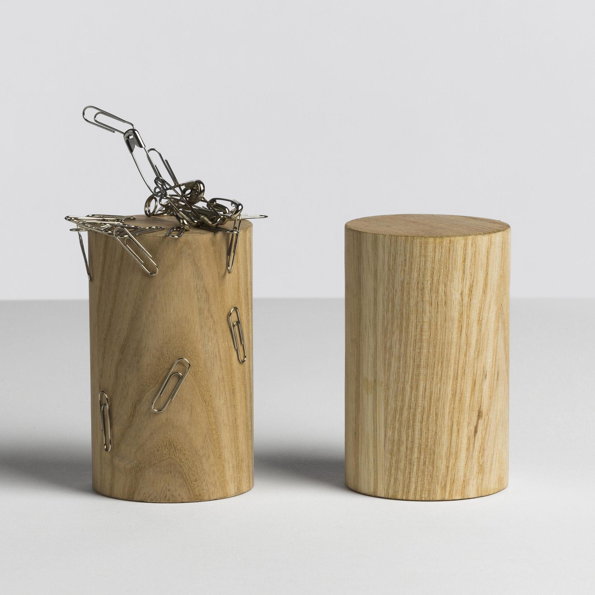 magnetic tower holz magnetisch f r b roklammern hay halter. Black Bedroom Furniture Sets. Home Design Ideas