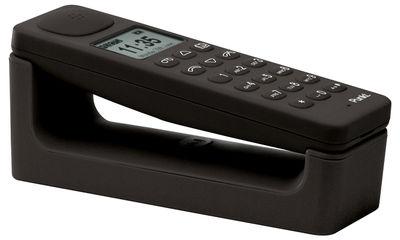 Téléphone Dect Unité principale Punkt noir en matière plastique