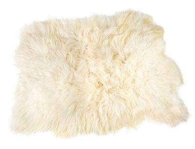 Déco - Tapis - Peau de mouton Big Moumoute /Poils longs - 170 x 100 cm - FAB design - Poils longs / Blanc naturel - Peau de mouton