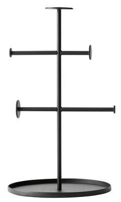 Porte-bijoux Norm Collector / H 27 cm - Menu noir en métal