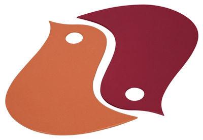 Foto Sottopentola Oiseaux di Fermob - Paprika,Pepper - Metallo