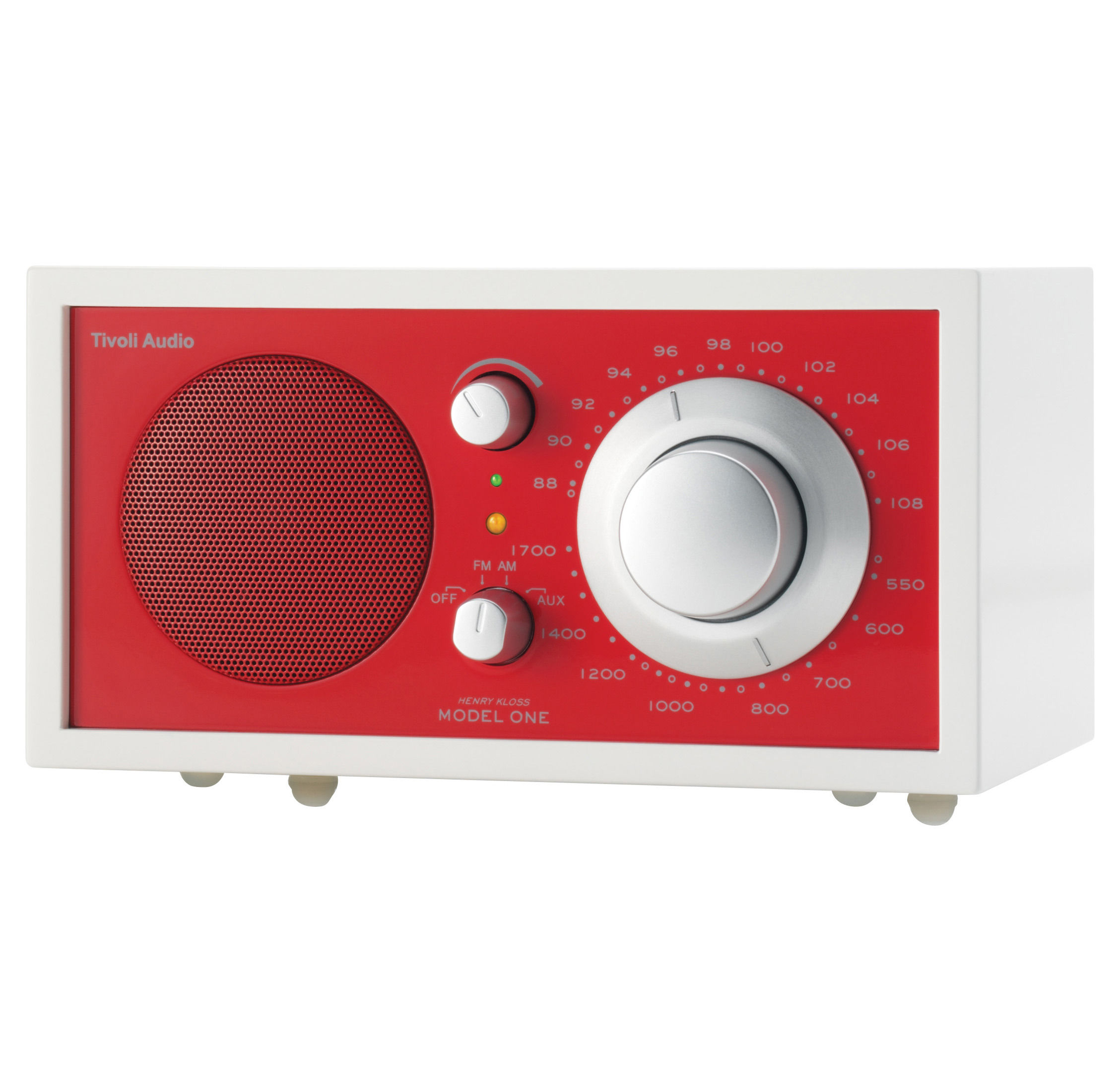 radio model one s rie frost white enceinte portative compatible ipod rouge tivoli audio. Black Bedroom Furniture Sets. Home Design Ideas