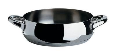 Cuisine - Casseroles, poêles, plats... - Rondin Mami / Ø 24 cm - Alessi - Ø 24 cm - Acier poli - Acier inoxydable