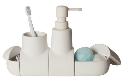 Set d'accessoires Submarine Pour salle de bains Seletti blanc en céramique