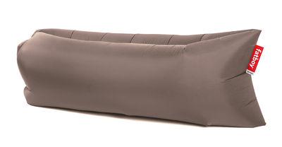 pouf gonflable lamzac the original 2 0 l 200 cm taupe fatboy. Black Bedroom Furniture Sets. Home Design Ideas
