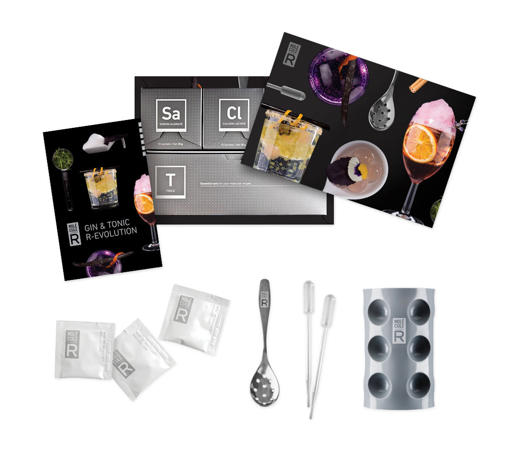 kit cuisine mol culaire gin tonic r volution kit gin tonic mol cule r. Black Bedroom Furniture Sets. Home Design Ideas