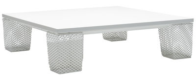 Furniture - Coffee Tables - Ivy Coffee table - Square by Emu - White - Steel