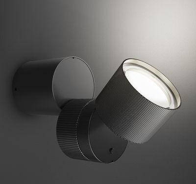 Luminaire - Appliques - Applique Objective LED - Artemide - Noir - Aluminium peint, Méthacrylate