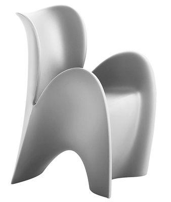Poltrona Lily Small di MyYour - Grigio chiaro opaco - Materiale plastico