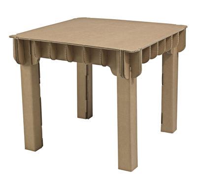 table enfant build up carton skitsch made in design. Black Bedroom Furniture Sets. Home Design Ideas