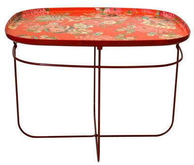 Table Basse T Ukiyo Rectangulaire Orange Moroso