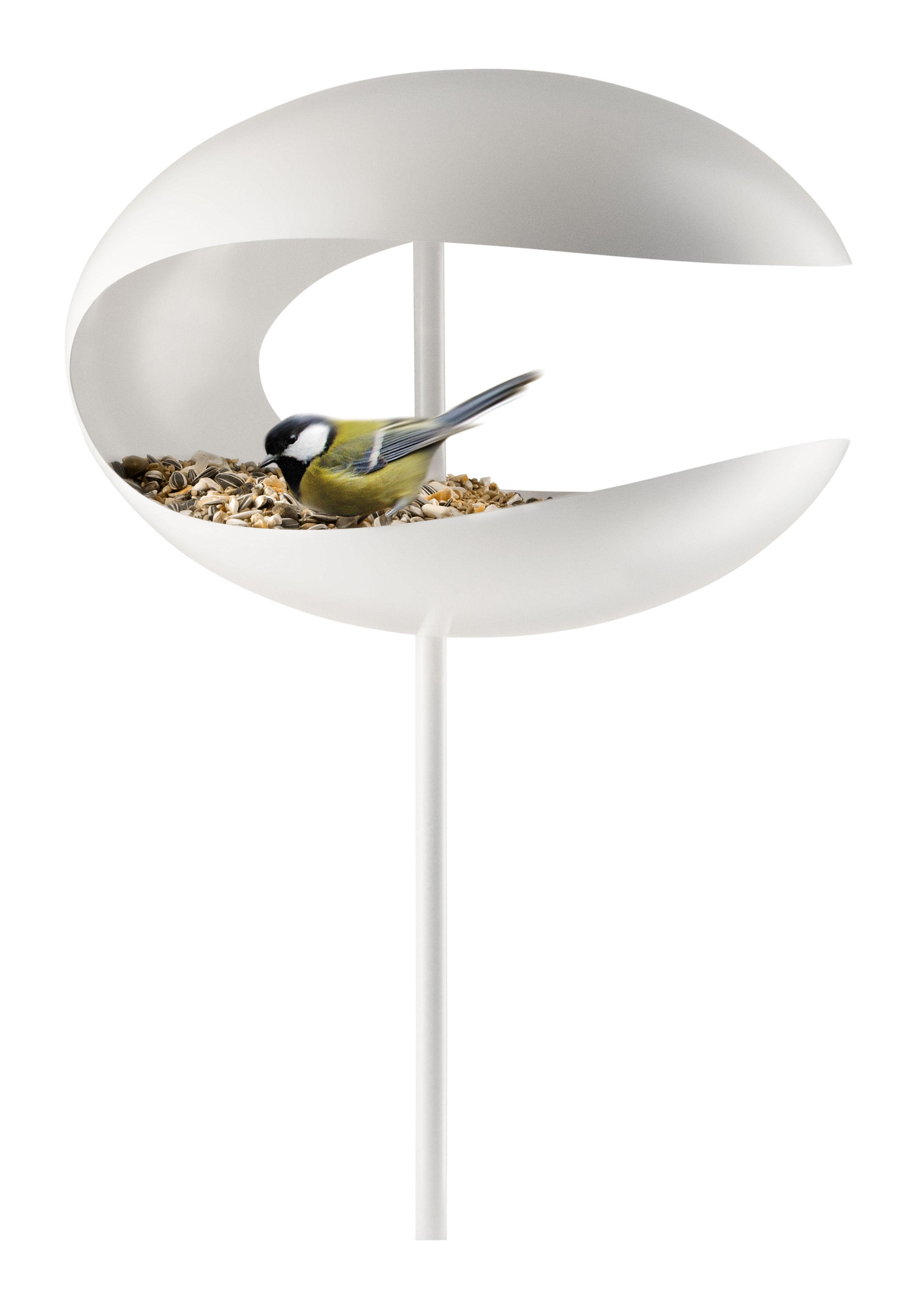 mangeoire oiseaux sur pied blanc eva solo. Black Bedroom Furniture Sets. Home Design Ideas