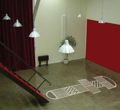 sticker marelle pour le sol marelle blanc domestic made in design. Black Bedroom Furniture Sets. Home Design Ideas