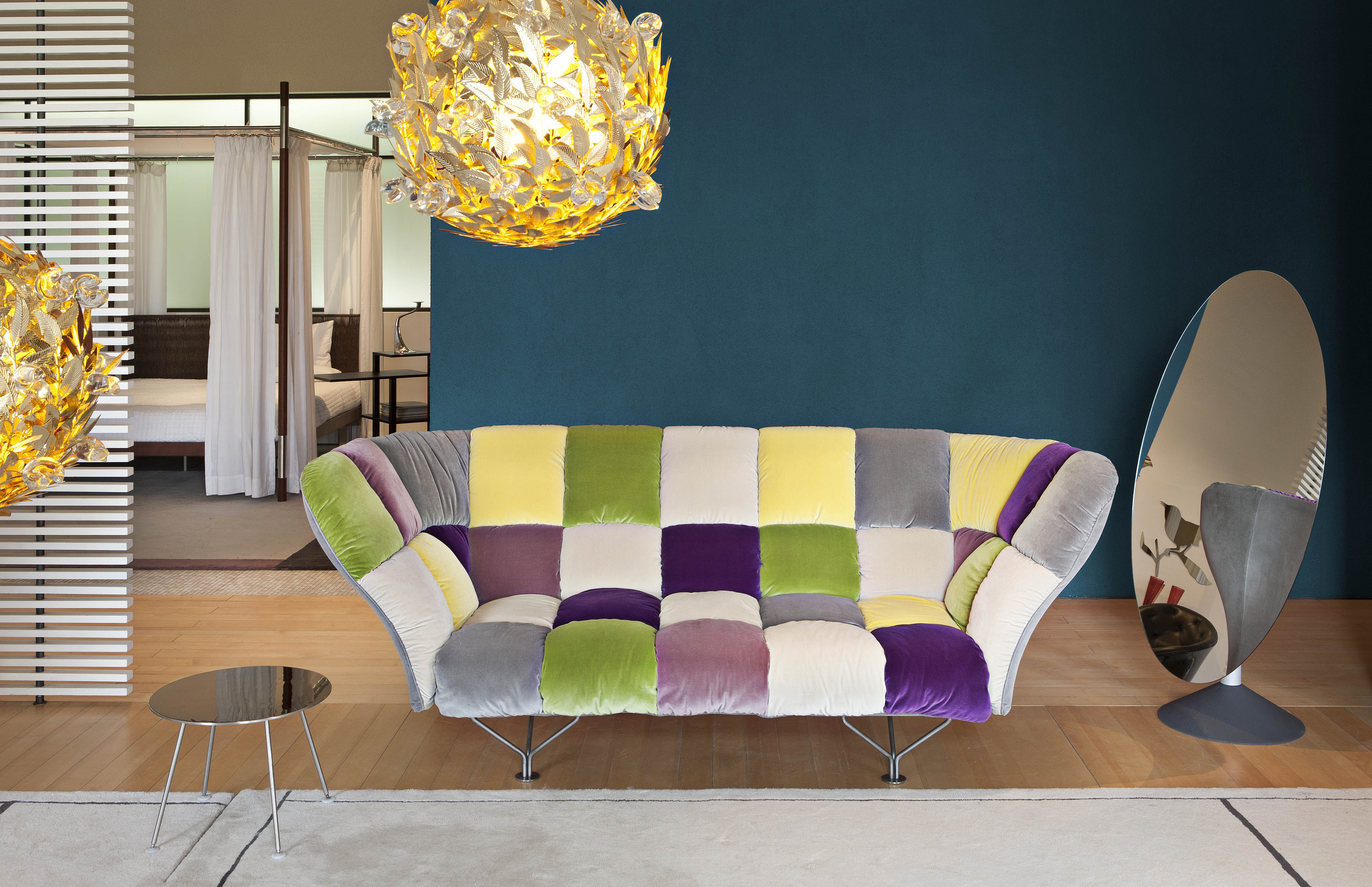 Scopri divano destro 33 cuscini 3 posti l 235 cm - Cuscini moderni divano ...
