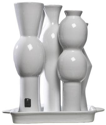 vase factory 5 blanc pols potten. Black Bedroom Furniture Sets. Home Design Ideas