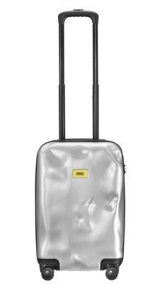 Accessoires - Sacs, trousses, porte-monnaie... - Valise Bright Small / Roulettes - Format cabine H 50 cm - Crash Baggage - Argent - ABS, Aluminium