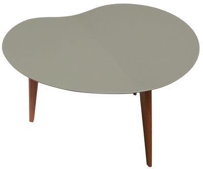 table basse lalinde haricot large gris pieds ch ne sentou edition. Black Bedroom Furniture Sets. Home Design Ideas