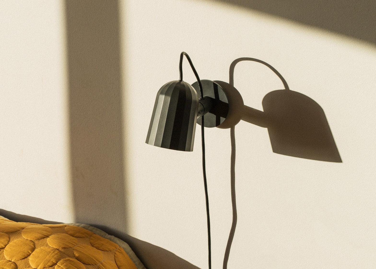 noc metall kabel mit netzstecker wandleuchte mit stromkabel. Black Bedroom Furniture Sets. Home Design Ideas