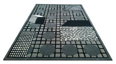 Tapis Tapigri / By Nathalie du Pasquier - 200 x 300 cm - La Chance gris,noir en tissu