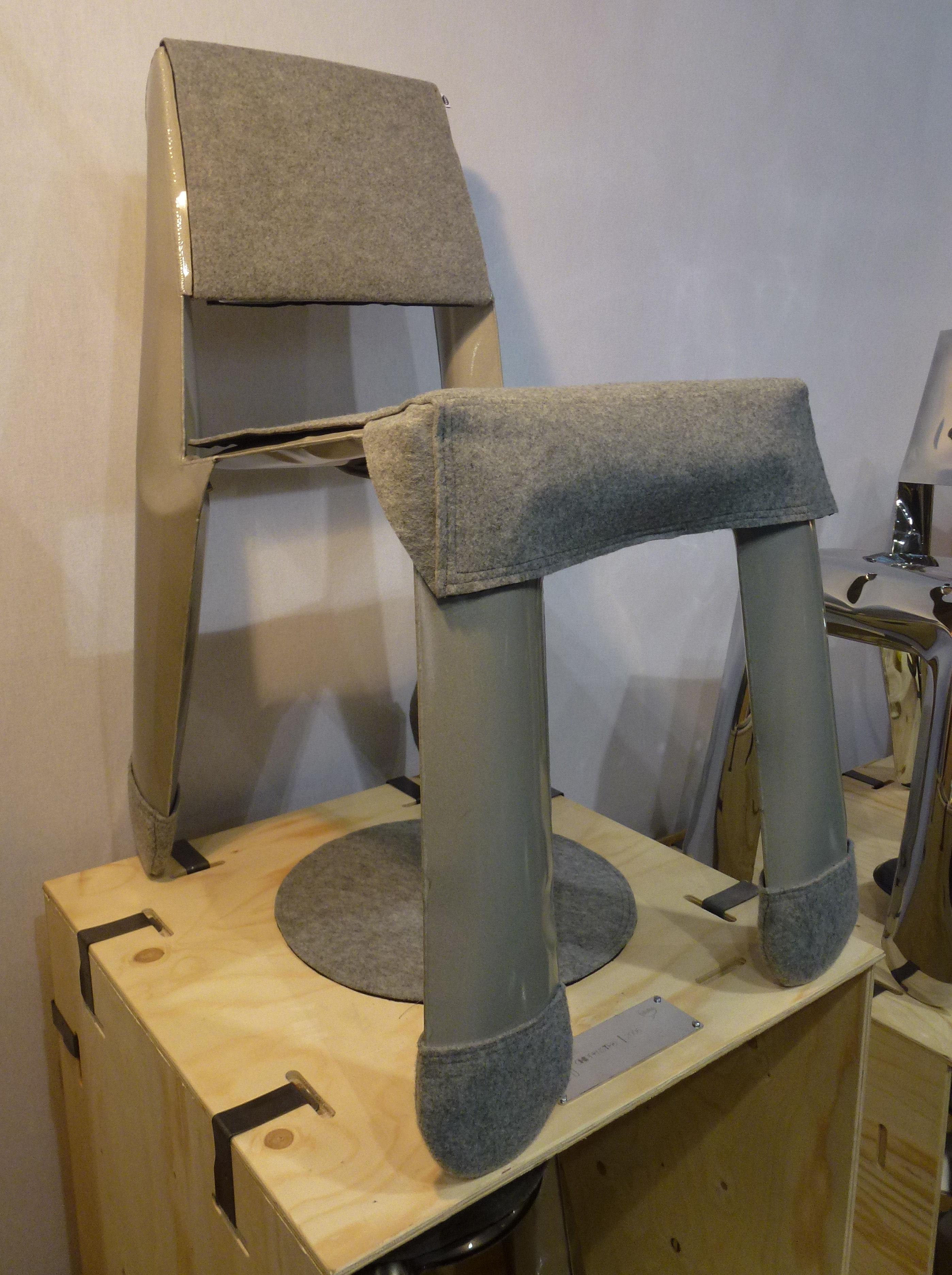 patin botki lot 4 chaussettes de protection pour chaise chippensteel gris zieta. Black Bedroom Furniture Sets. Home Design Ideas