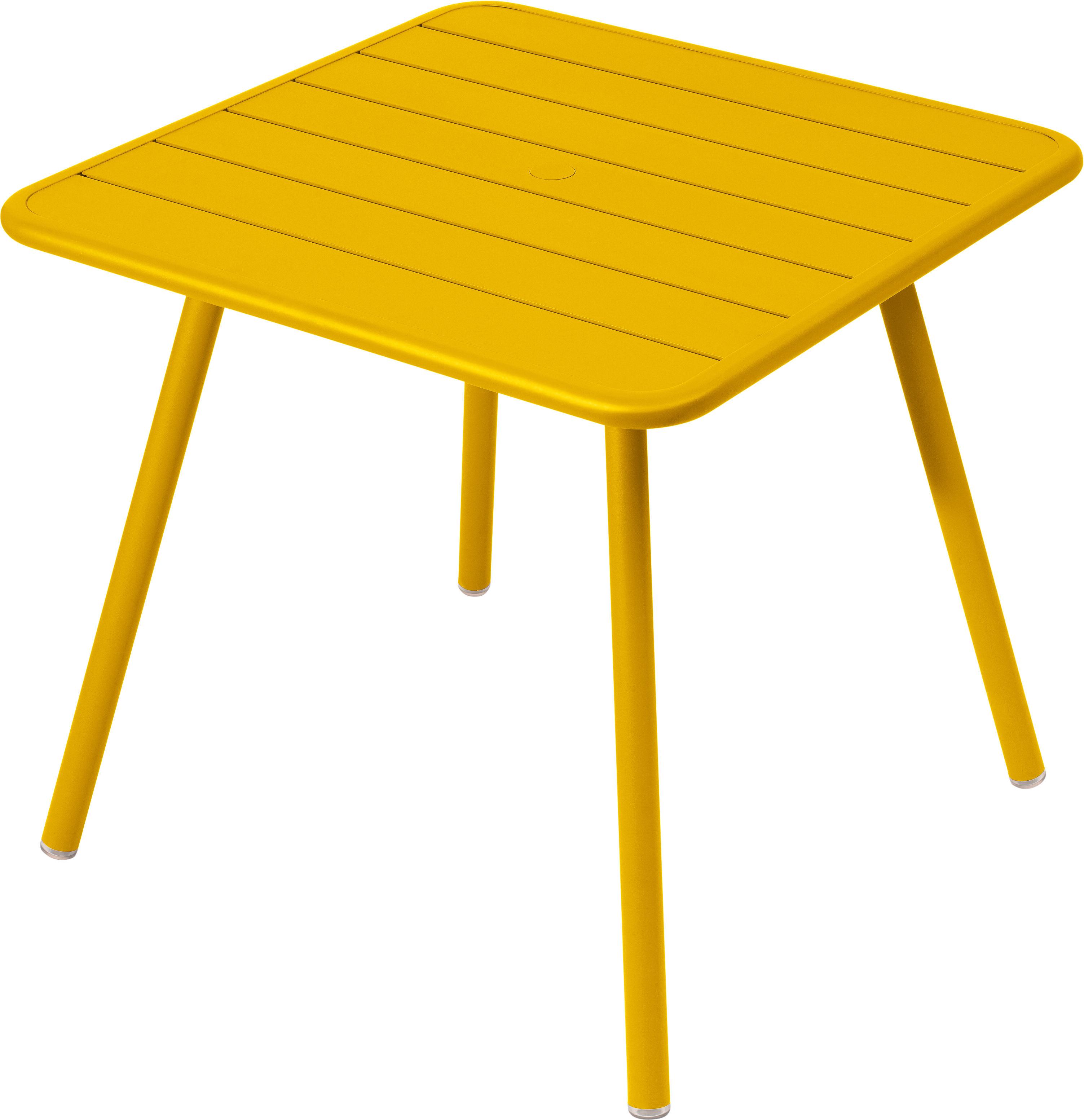 luxembourg vier tischbeine f r 2 bis 4 personen 80 x 80 cm fermob tisch. Black Bedroom Furniture Sets. Home Design Ideas