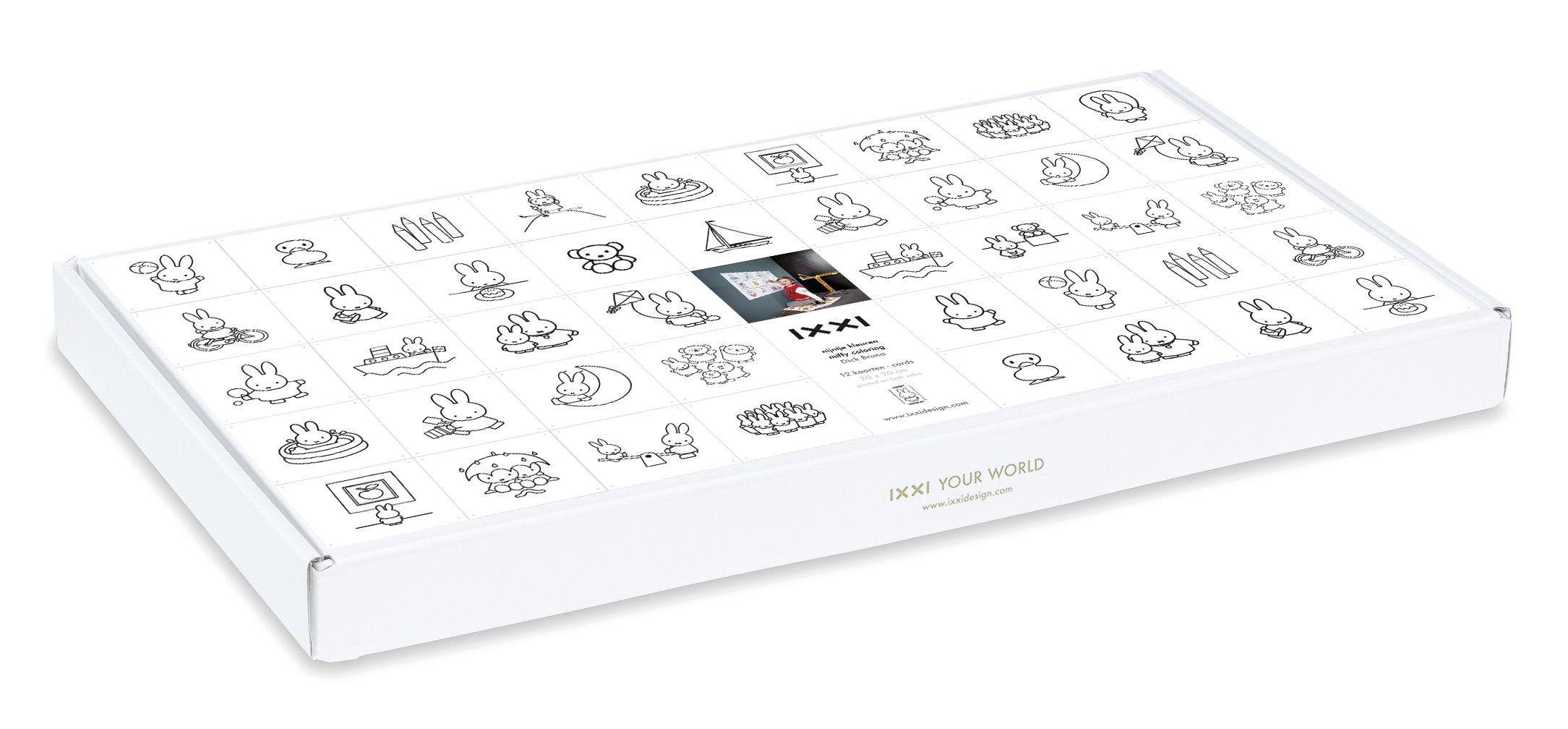 Miffy pannello decorativo da colorare 60 x 80 cm - Pannello decorativo design ...