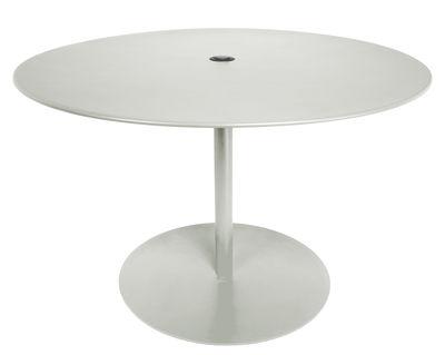Table FormiTable XL / Métal - Ø 120 cm - Fatboy gris clair en métal