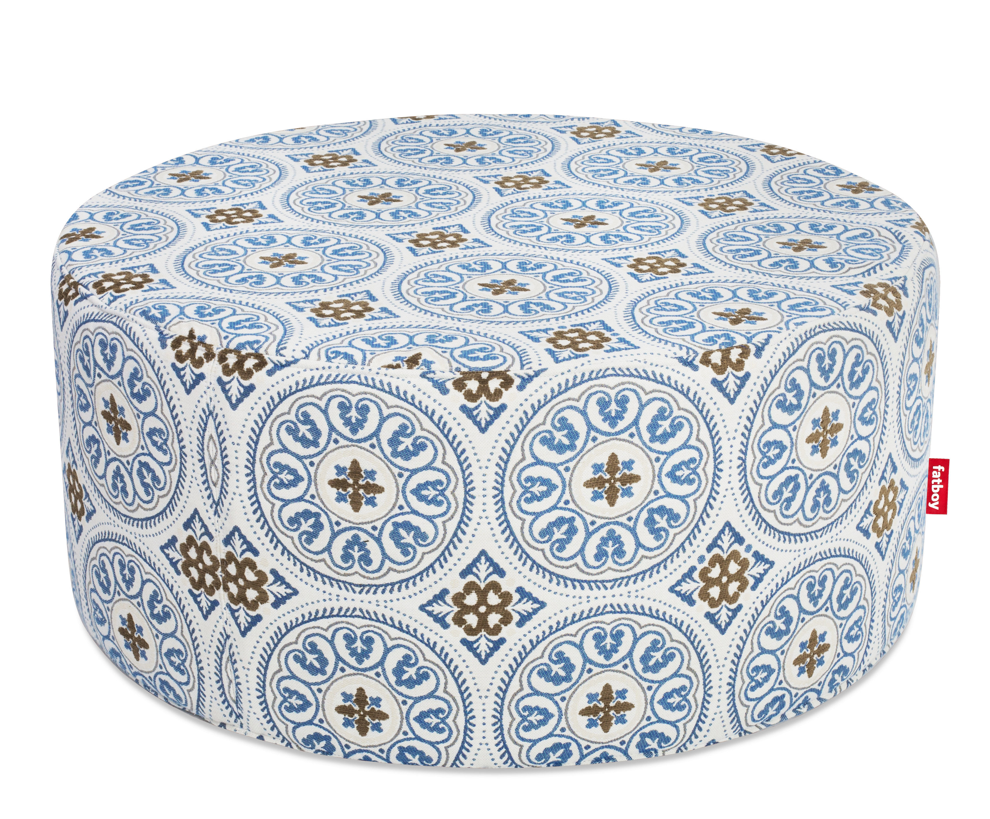 pouf pfffh pour l 39 ext rieur 90 cm bleu fatboy. Black Bedroom Furniture Sets. Home Design Ideas