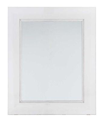 Foto Specchio murale Francois Ghost - Larghezza - 88 x 111 cm di Kartell - Trasparente - Materiale plastico