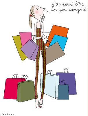 Déco - Objets déco et cadres-photos - Affiche Soledad - Shopping / 30 x 40 cm - Image Republic - Shopping - Papier