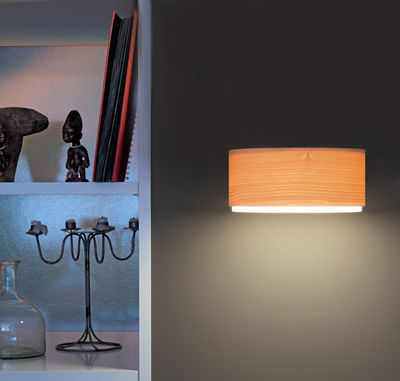 Lighting - Wall Lights - Arba Wall light by Belux - Wood - Oiled maple