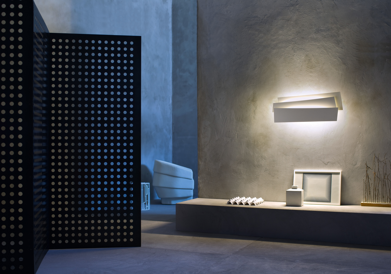 applique innerlight marron foscarini. Black Bedroom Furniture Sets. Home Design Ideas