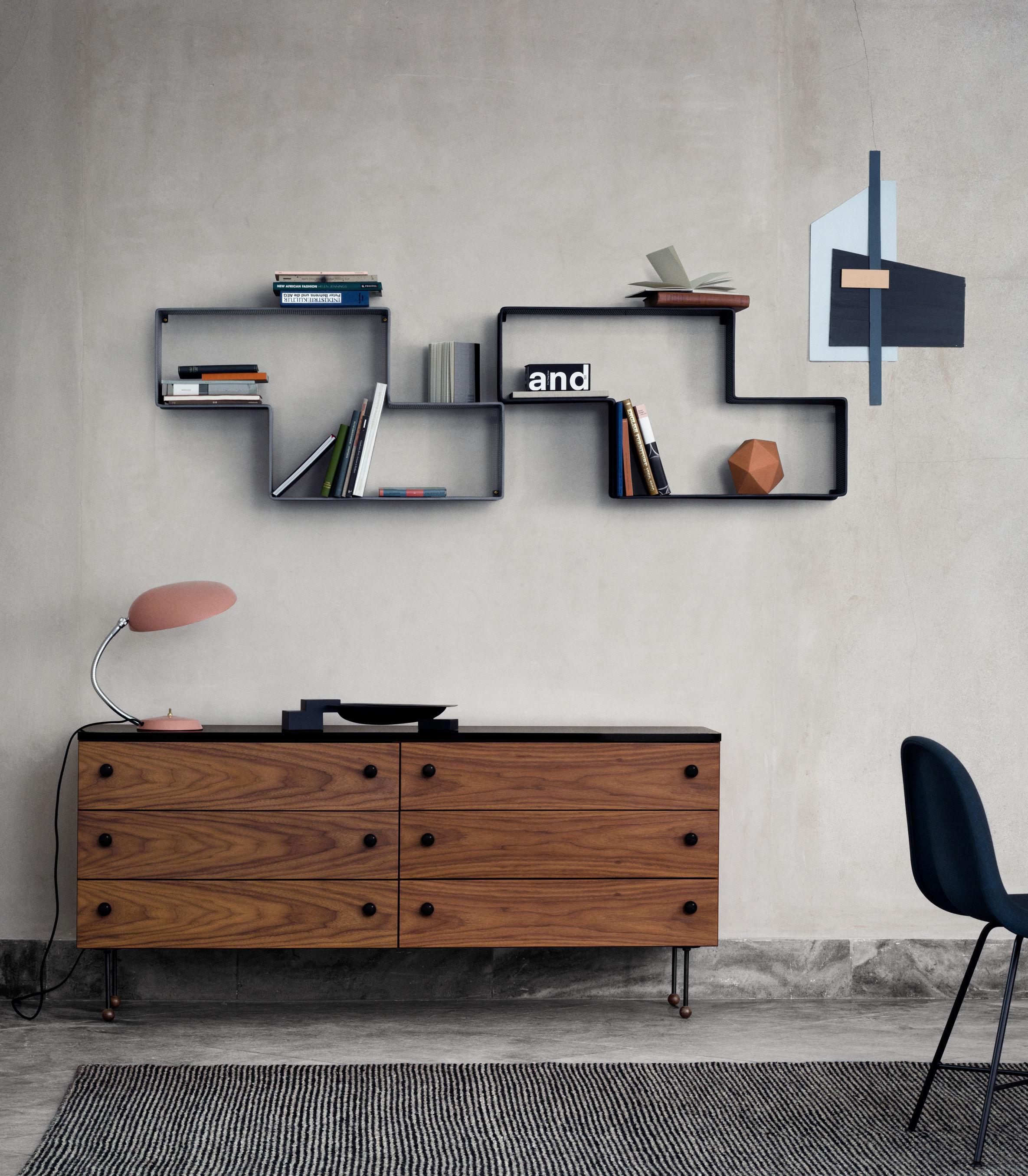 etag re d dal mat got l 90 cm r dition 50 39 vert gubi. Black Bedroom Furniture Sets. Home Design Ideas