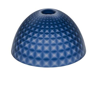 Abat-jour Stella Medium / Ø 43,5 cm - Koziol bleu marine transparent en matière plastique