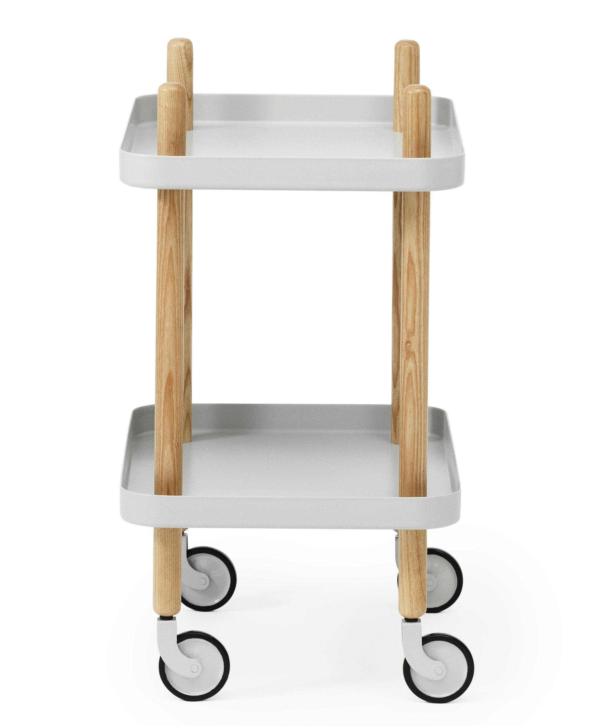 Block Dresser On Wheels Light Grey By Normann Copenhagen