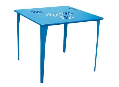 Pattern Tisch 87 x 87 cm - Emu - Azurblau