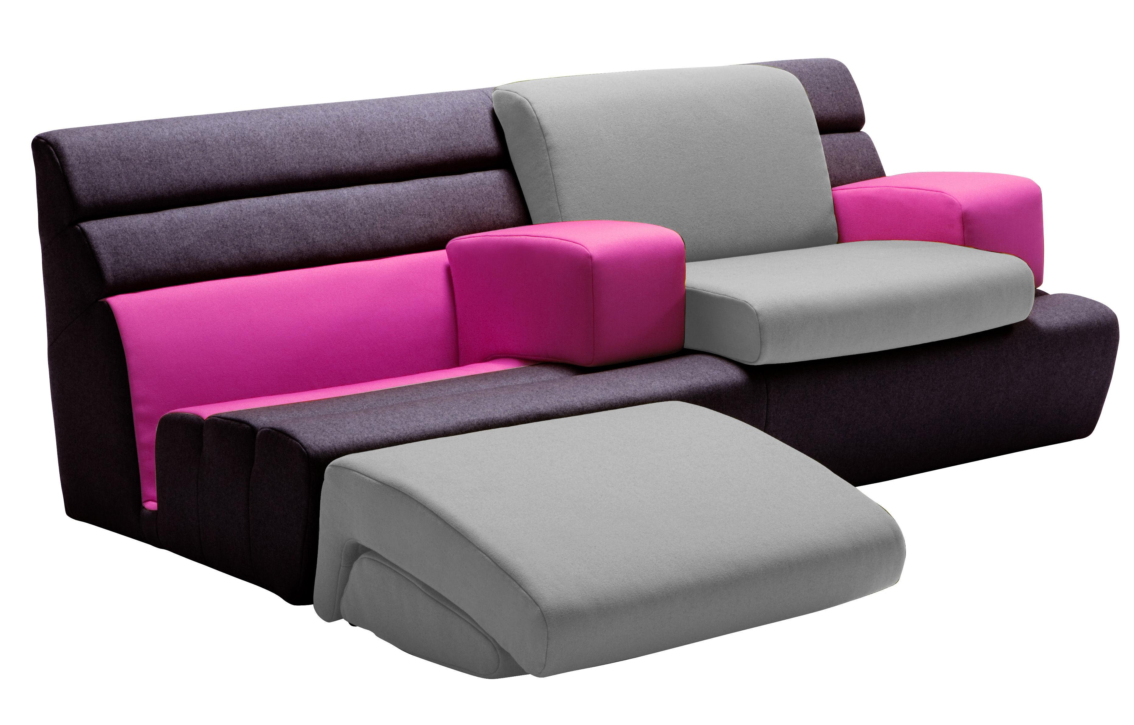 compo 39 sit by matali crasset variables sofa l 194 cm exklusiv dunlopillo sofa. Black Bedroom Furniture Sets. Home Design Ideas