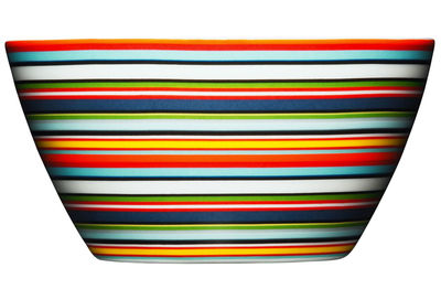 Tableware - Bowls and salad bowls - Origo Bowl - Ø 14 cm x H 7 cm by Iittala - Orange - China