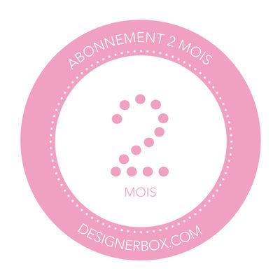 Déco - Objets déco et cadres-photos - Carte cadeau Designerbox / abonnement 2 mois France - Designerbox - 2 mois - Papier